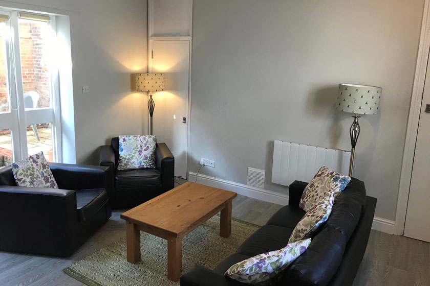 One of the lounges at our new Bury St Edmunds service