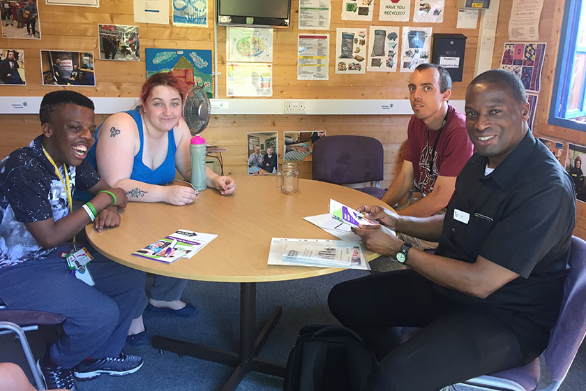 Nickleby Road residents learn about voting