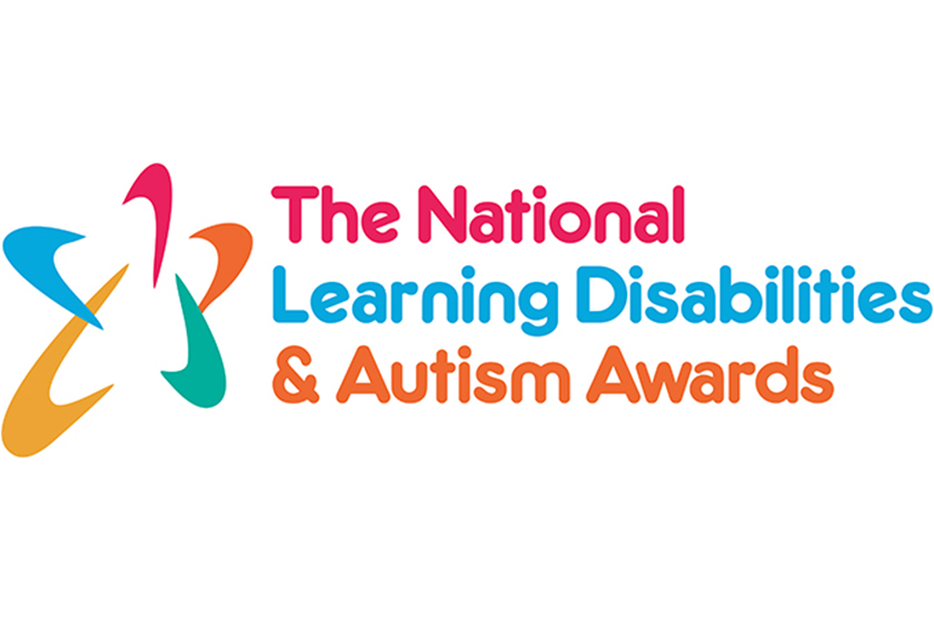 National Learning Disabilities and Autism Awards logo.