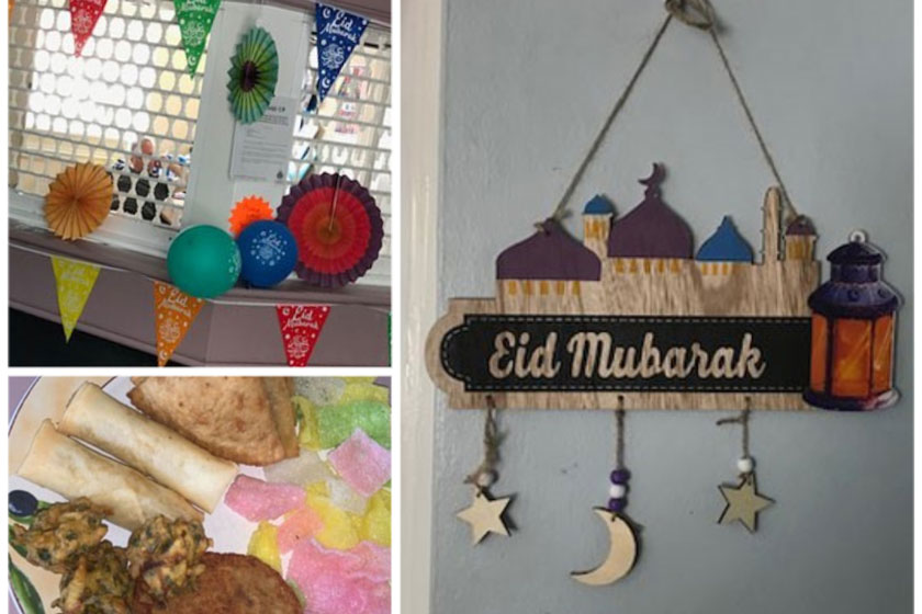 Eid celebrations at St James House