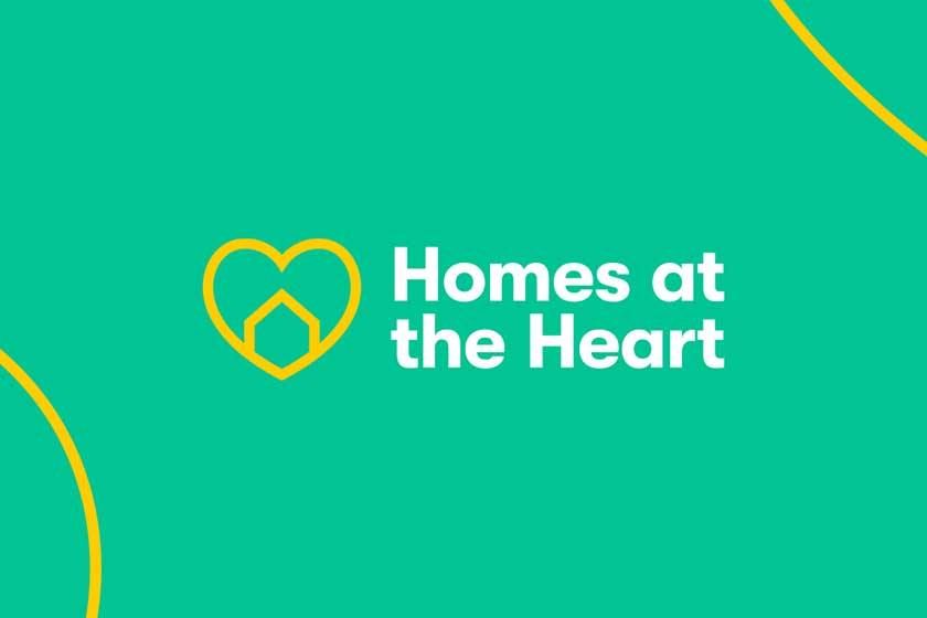 Homes at the Heart campaign graphic