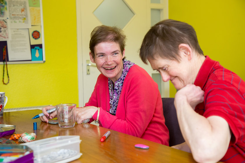 Learning disability residents