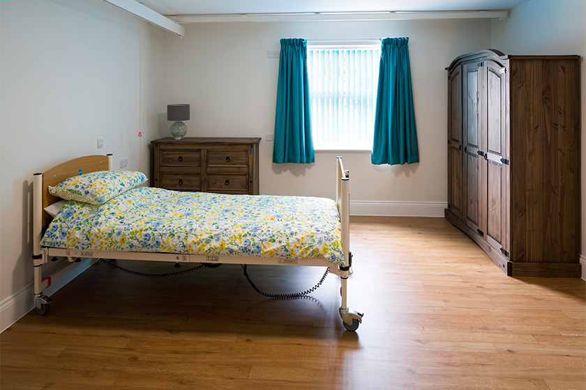 internal bedroom at Clover Court