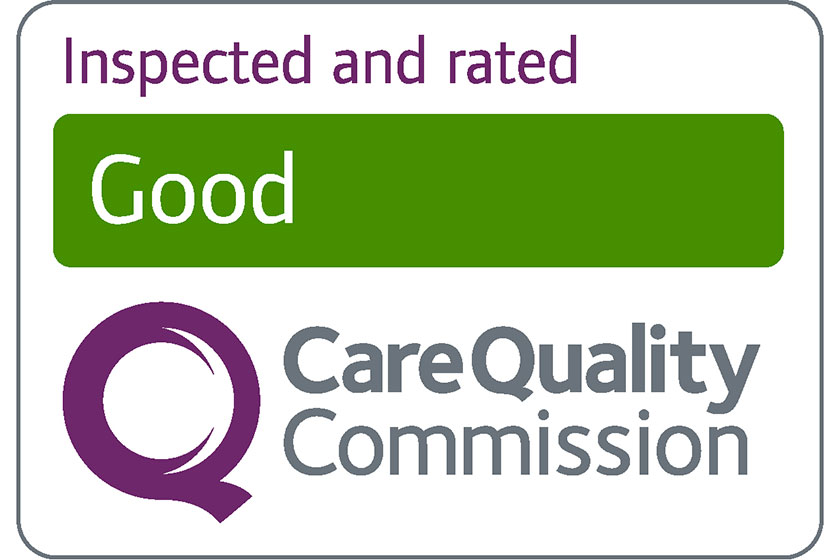 CQC inspected and rated good logo