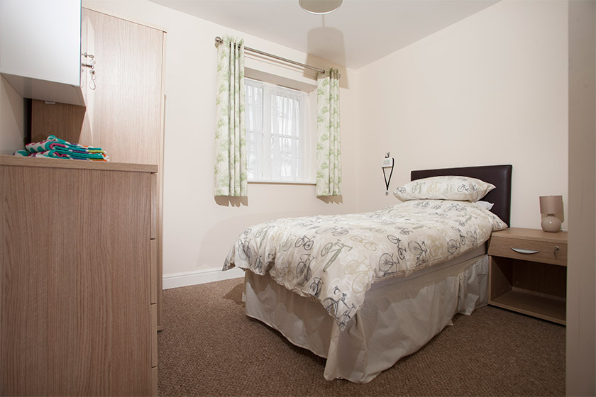 interior of bedroom at Eastgate