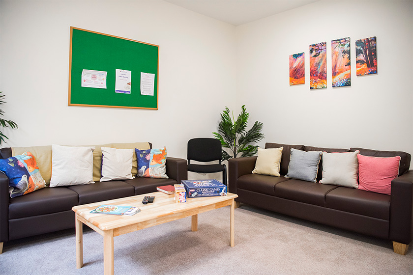interior living room at Greenwich Care Services