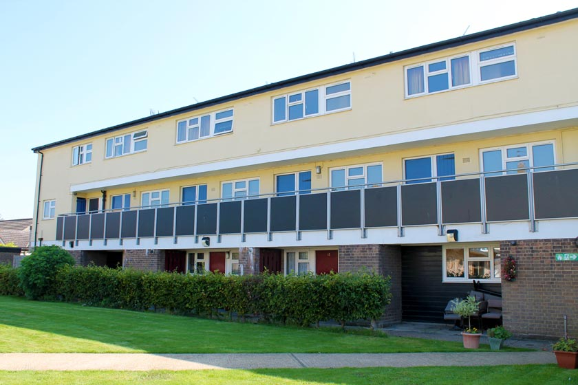 Exterior of our Ipswich and Felixstowe homelessness supported housing scheme