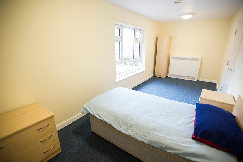 example bedroom at Maryfield