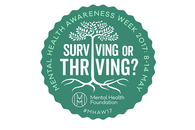 Mental Health Awareness Week badge 2017