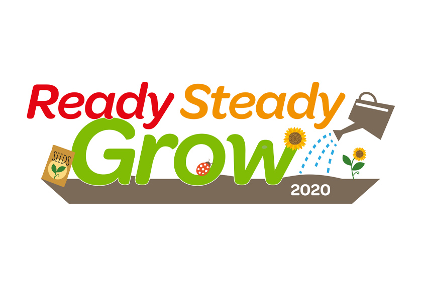 Ready Steady Grow 2020 logo