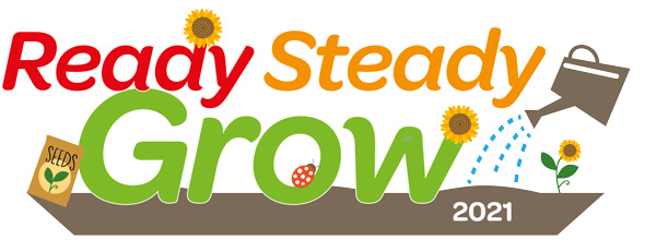 Ready Steady Grow 2021 logo