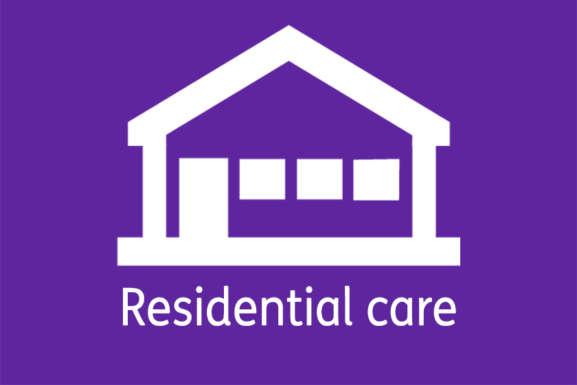 Residential Care bungalows logo