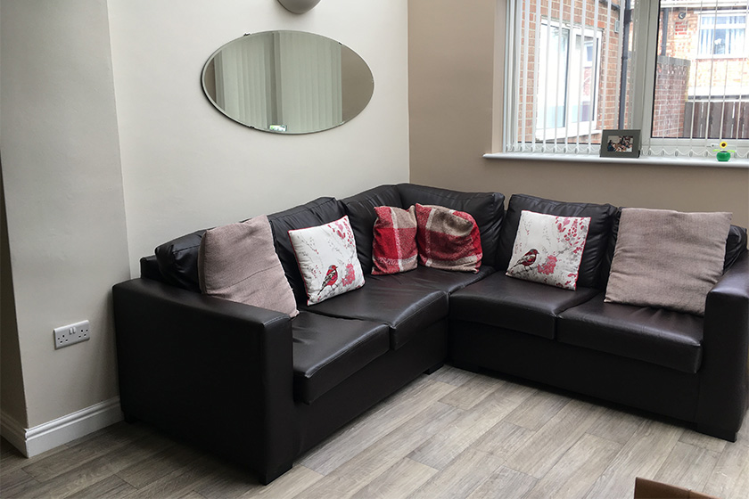 Living area at Roxby Avenue