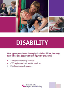 Sanctuary Supported Living - Disability brochure