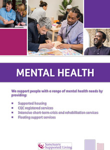 Sanctuary Supported Living - Mental Health brochure