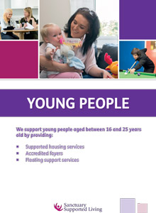 Sanctuary Supported Living - Young People brochure