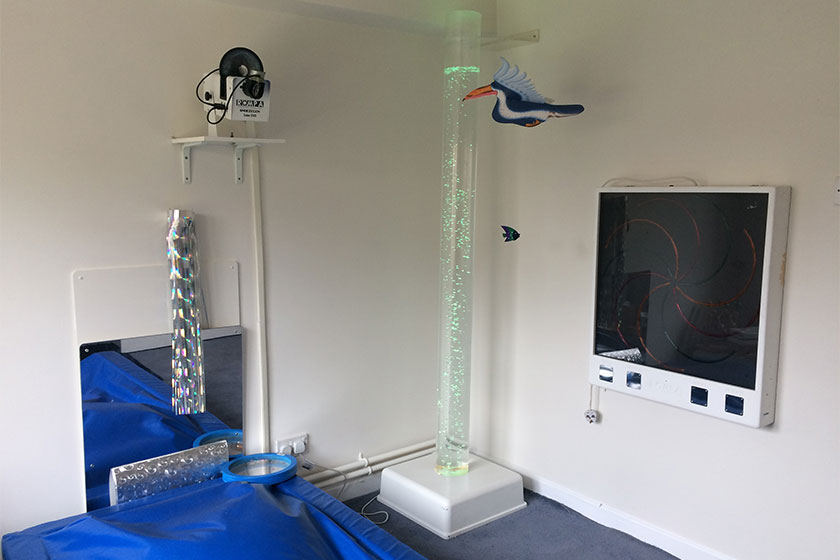 Sensory Room at Shaftesbury Court