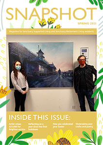 Front cover of the Snapshot Spring edition.