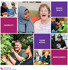 Sanctuary Supported Living About Us Brochure 2019