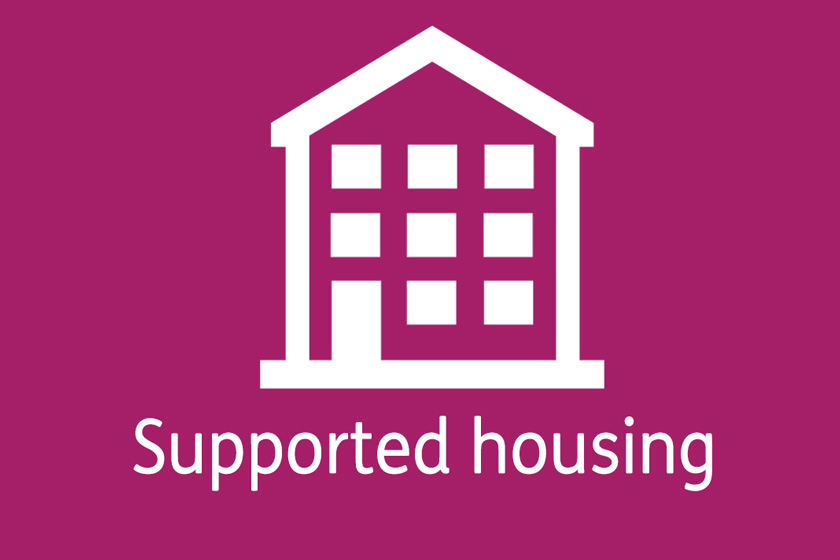 Supported Housing in a shared house
