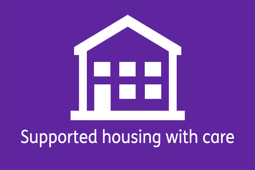 Supported Housing with Care apartments logo