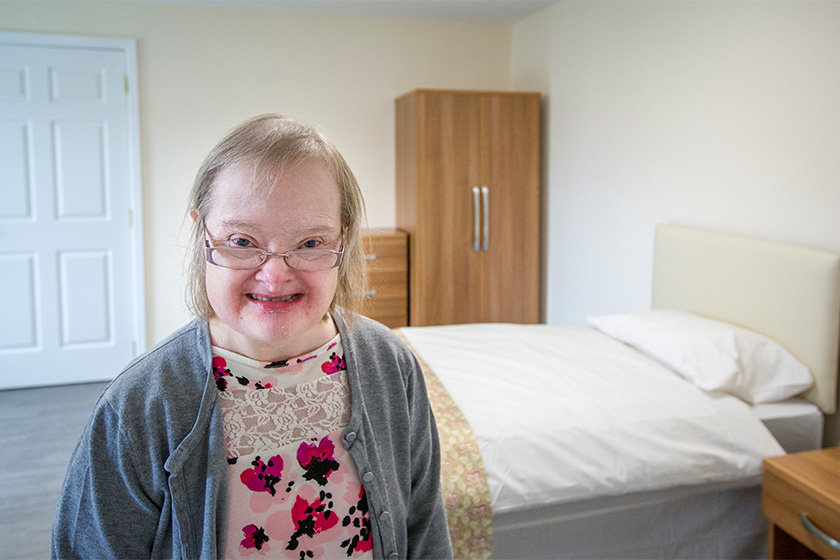Resident at Sycamore Court