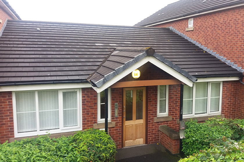 Exterior of Sanctuary Supported Living's Wigan Road scheme in Bolton