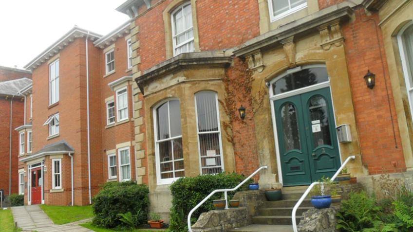 A picture of Rachel House and Dashwood House