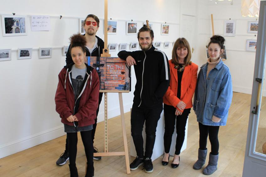 A picture of Youngsters display photography at Suffolk exhibition
