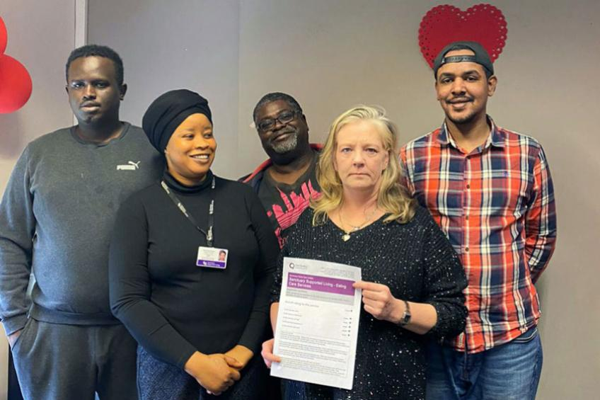 A picture of Acton supported living service rated 'Good' by the CQC