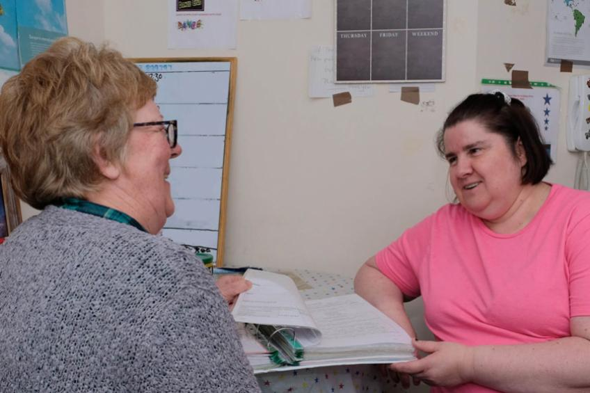 A picture of 'Good' CQC rating for 'well run' Darlington supported living service