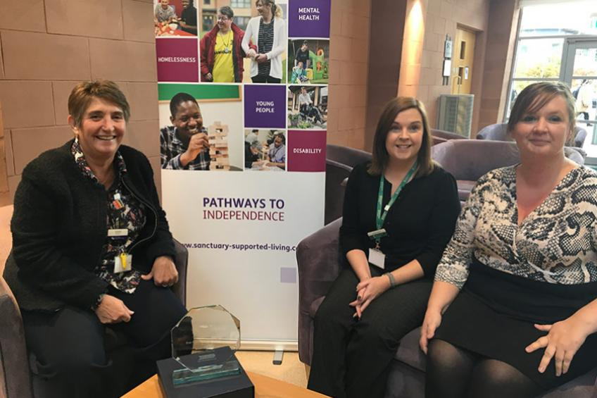 A picture of Sanctuary Supported Living named best provider