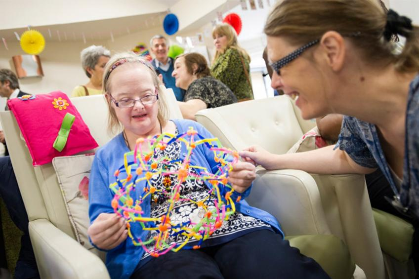 A picture of Supported living care home has flying start with 'Good' CQC rating
