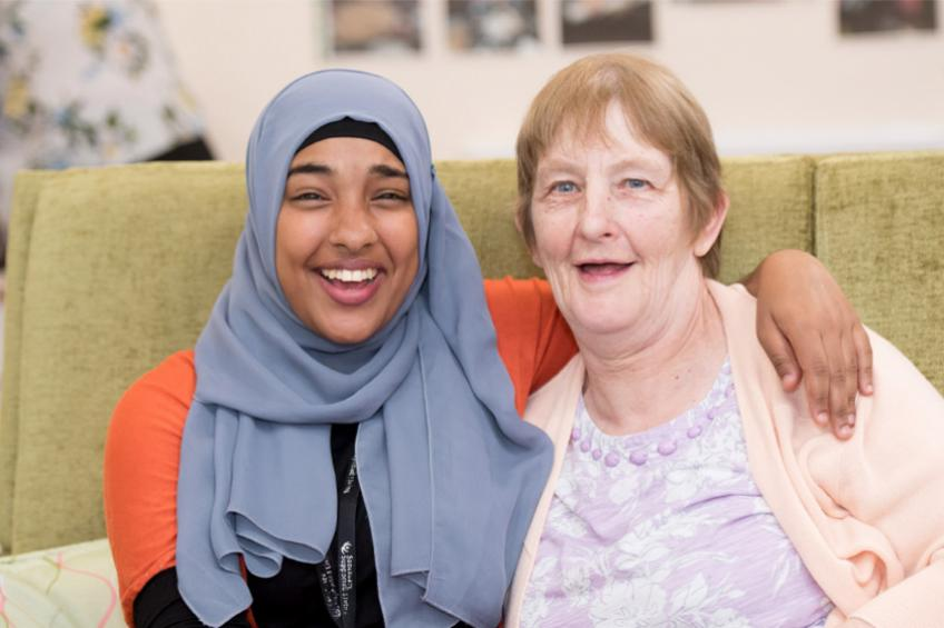 A picture of Leicester specialist disability care home rated 'Good' by CQC