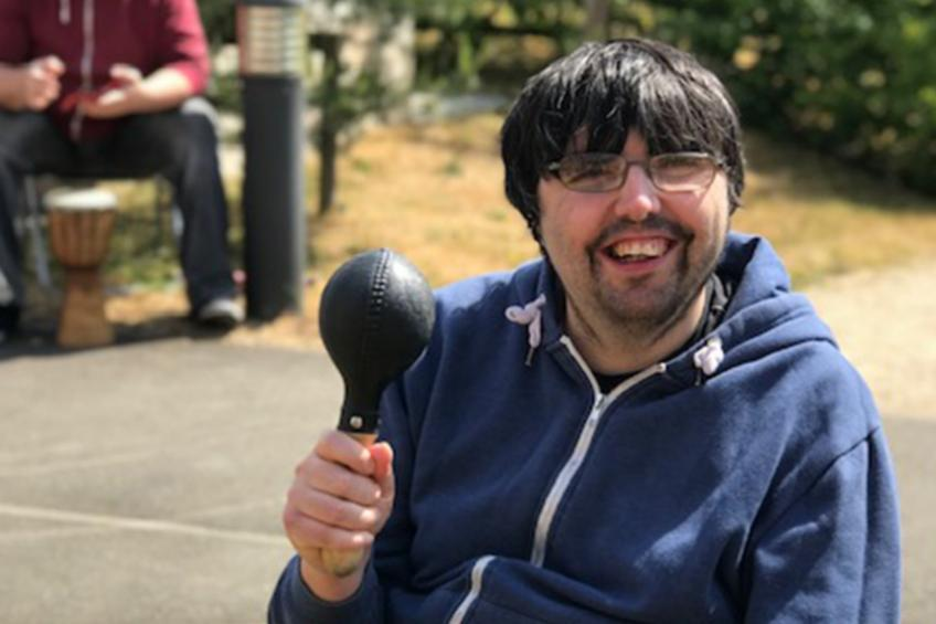 A picture of Music sessions hit the high note for supported housing service