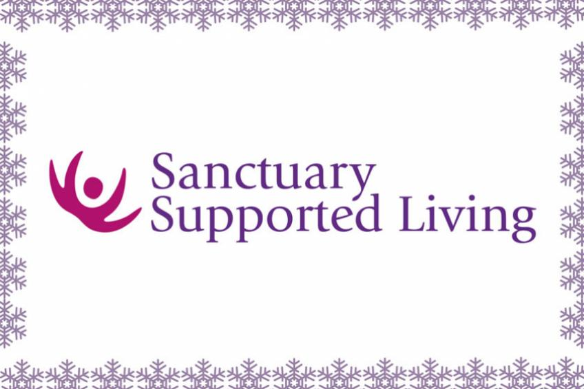 A picture of Christmas opening hours for Sanctuary Supported Living's  domestic abuse services