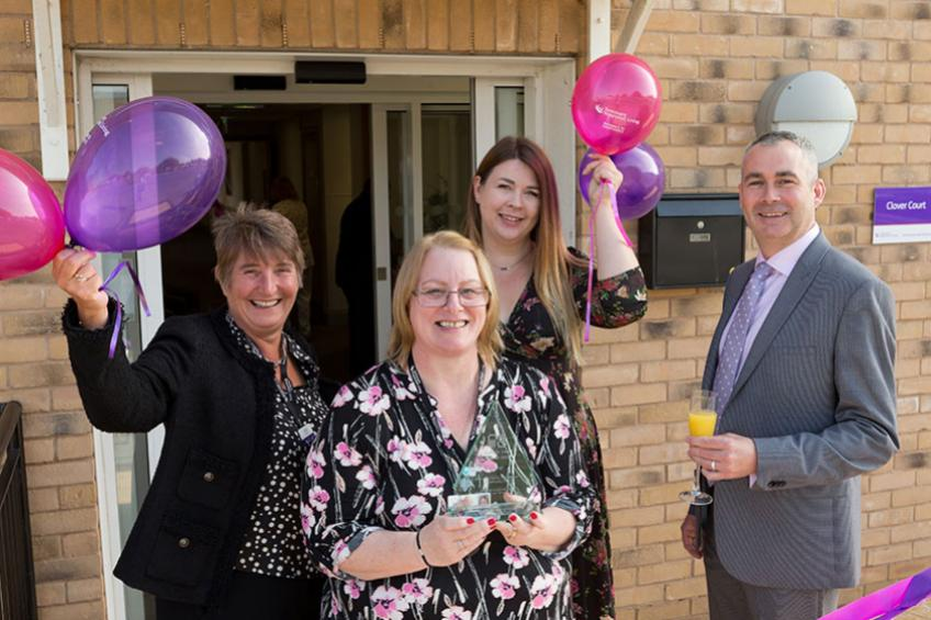 A picture of Disability supported housing service celebrates regional award win