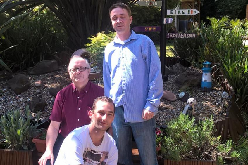 A picture of Mental health residents thrive with garden projects