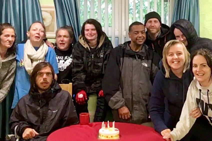 A picture of New Manchester service helps city's rough sleepers