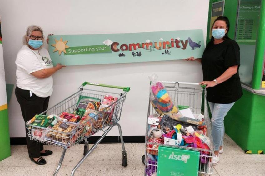 A picture of Supermarket kindness for Telford supported housing residents