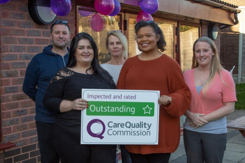 A picture of Exceptional care sees 'Outstanding' rating for Hampshire home
