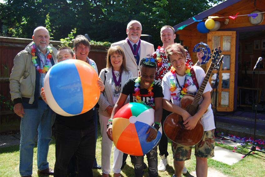 A picture of Taste of the tropics at learning disability service
