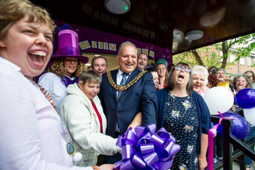 A picture of Learning disability housing service reopens with day of pure imagination