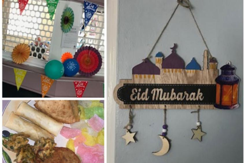 A picture of Stockton residents enjoy colourful Eid celebration