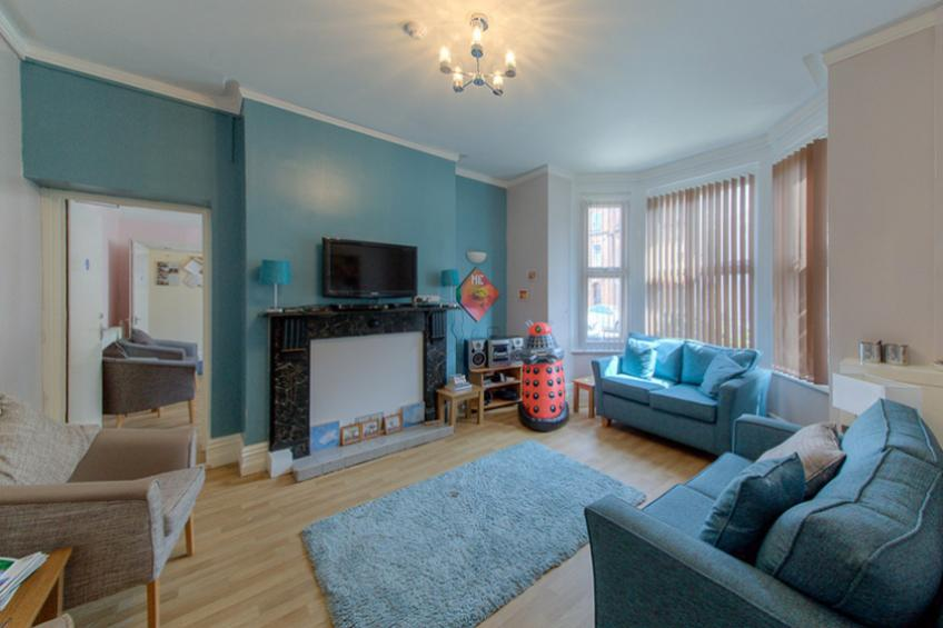 Lounge at Cromer Homelessness Service
