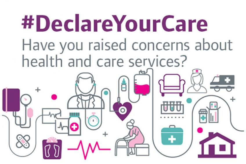 A picture of Sanctuary Supported Living supports the Declare Your Care campaign