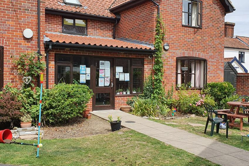 Diss Homeless Supported Housing exterior