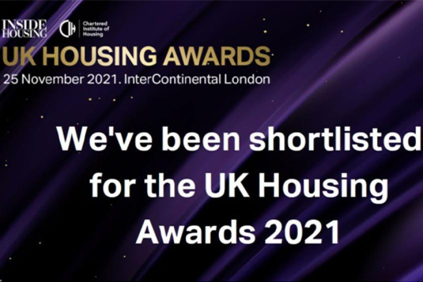 A picture of Double UK Housing Awards shortlisting for Sanctuary Supported Living