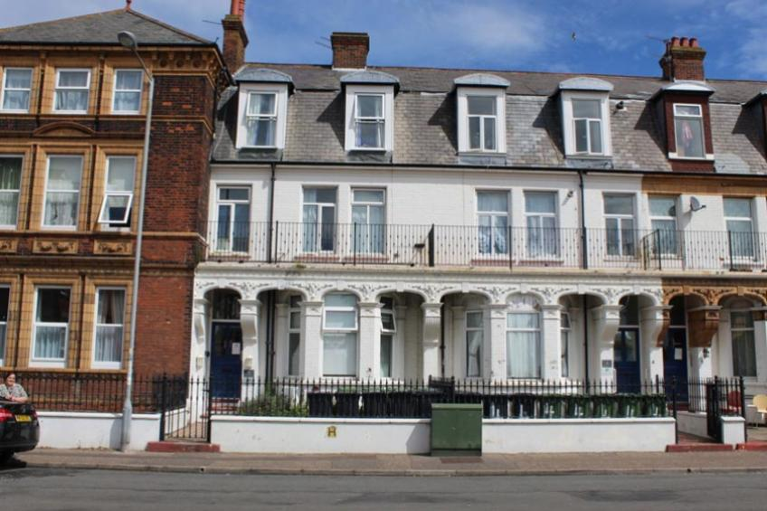 Exterior of Great Yarmouth Homeless Supported Housing