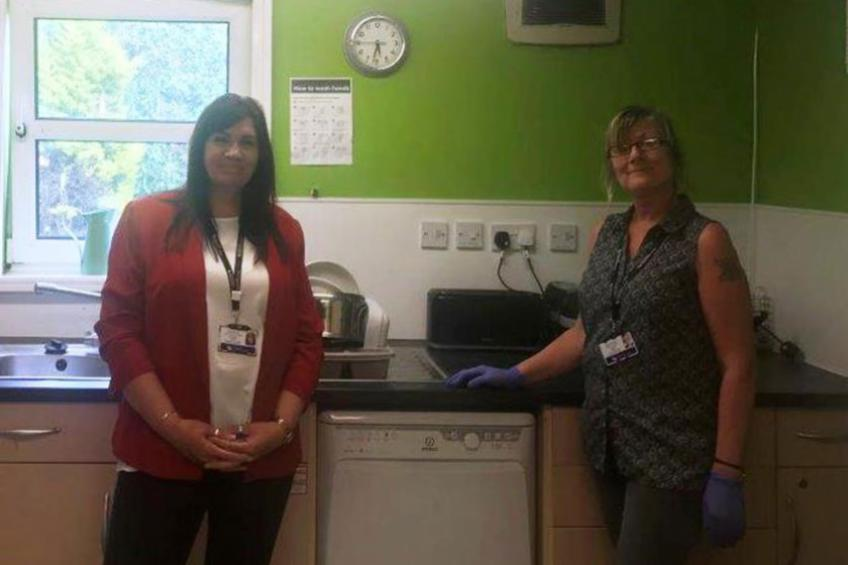 A picture of Hartlepool supported housing transformed with community help